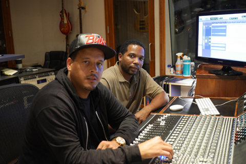 Carvin and Ivan in Studio A – small