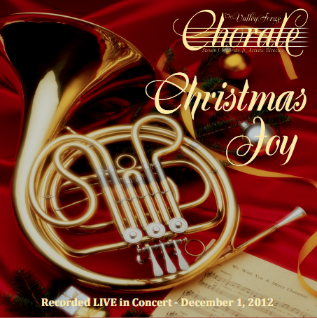 "The Valley Forge Chorale ""Christmas Joy 2012″"