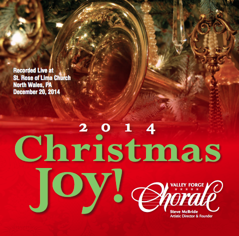 "The Valley Forge Chorale ""Christmas Joy 2014″"