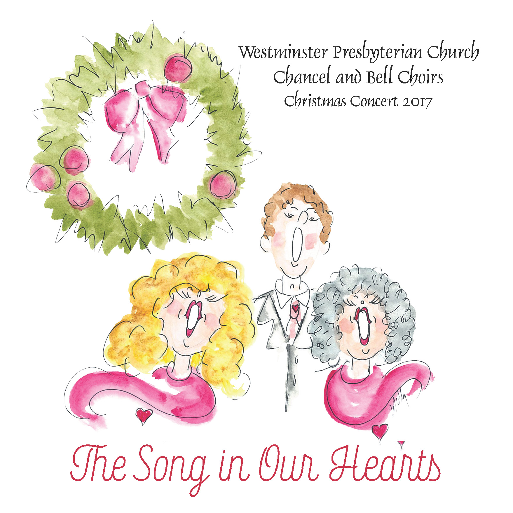 "Westminster Presbyterian Church Choir ""The Song in Our Hearts"""